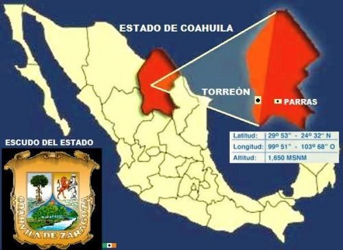 """Coahuila significa """"Lugar de árboles"""". Estado importante por sus viñedos e industria láctea y minera"""