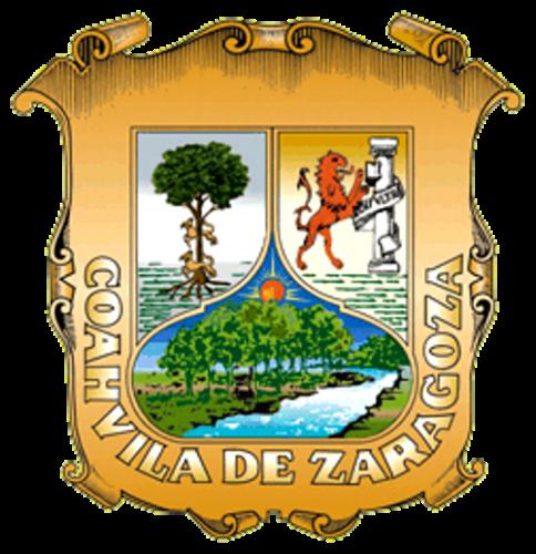 Escudo del Estado de Coahuila de Zaragoza. Significado: Esplendor del sol y arboledas de nogales que crecen en la rivera del río Monclova