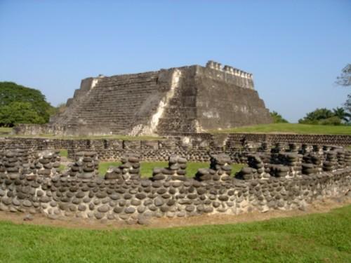 Templo de los Gladiadores -estructura circular-