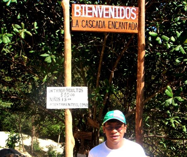 Entrada al área natural protegida para la preservación de los recursosde natutales; flora, fauna y agua