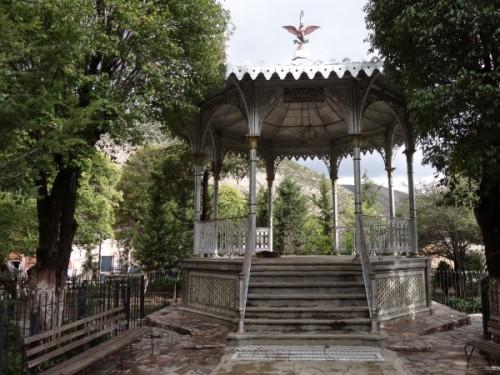 Quiosco y Jardín Hidalgo, Real de Catorce SLP