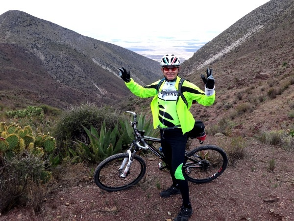Estamos a 500 mts de llegar al Cerro El Quemado SLP