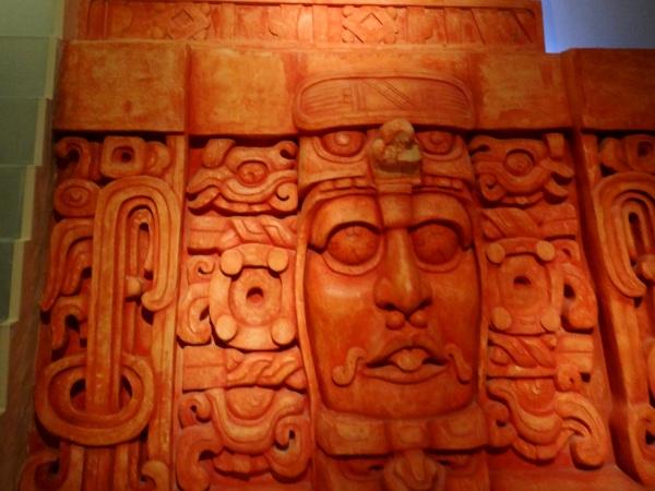 Mayas Mascarones Mascarones Museo Mundo Maya