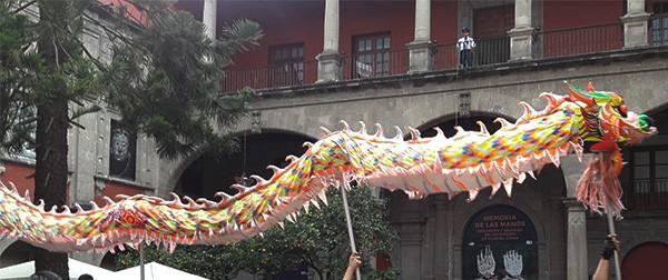 Museo de las Tres Culturas, representación día de muertos Cd. Méx. 2016 (2)