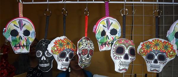 Calaberitas día de muertos, Cd. de México, Palacio del Arzobispado, nov 2016 (f)