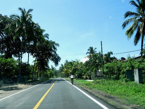 Cicloturismo México, carretera San Blas-Nayarit