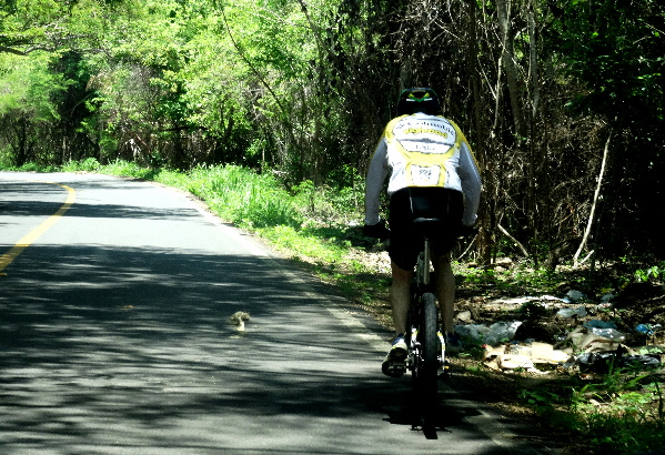 Cicloturismo México, carretera San Blas-Platanitos
