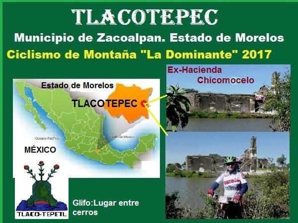 Tlacotepec Morelos, ciclismo de montaña, La Dominante 2017