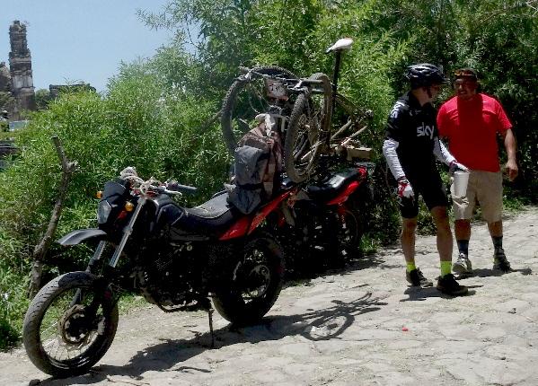 4. Rack de bici para moto, MTB La Dominante 2017 Tlacotepec Morelos