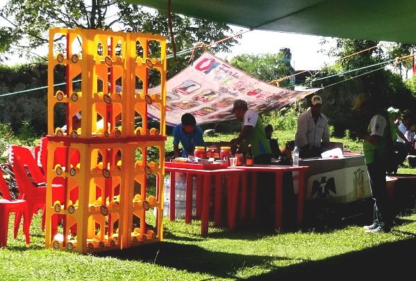 6. Puesto de alimentos e hidratación, MTB La Dominante 2017 Tlacotepec Morelos