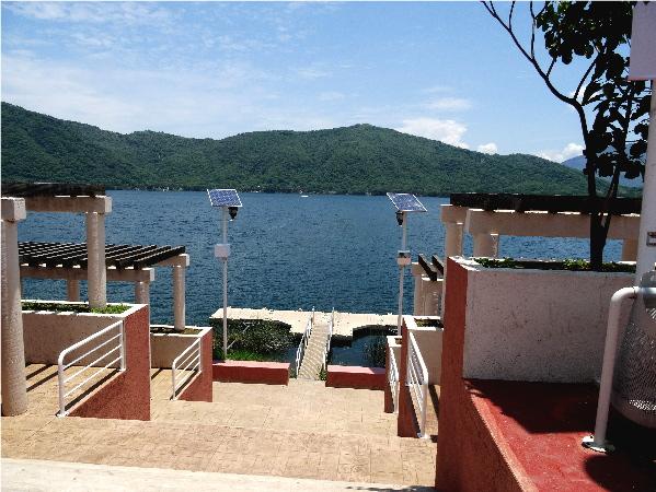 Embarcadero Laguna Santa María del Oro Nayarit