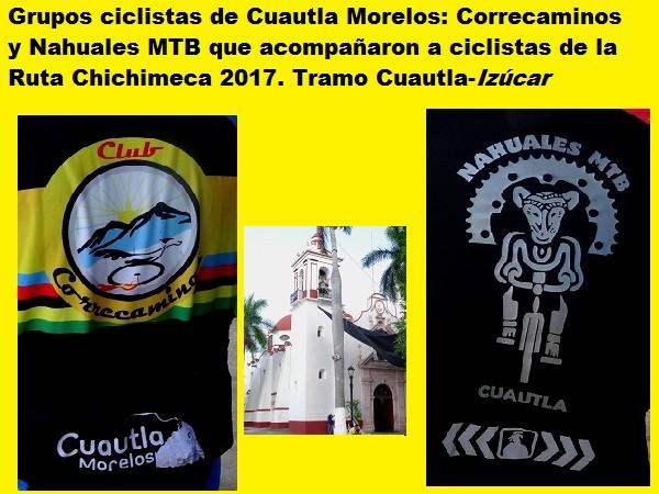 Jersey de los grupos   Correcaminos y Nahuales MTB. Ruta Chichimeca 2017