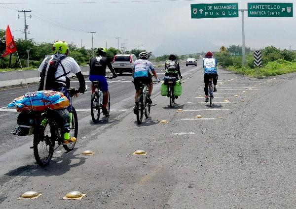 Ruta Chichimeca 2017 por entronque a Amayuca Morelos