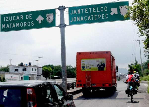 Rumbo a 4 caminos Amayuca Morelos.Ruta Chichimeca 2017