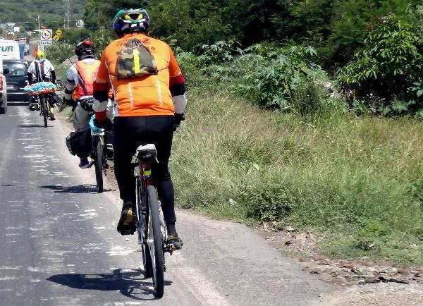 Rodando rumbo a Izúcar de Matamoros, Ruta Chichimeca 2017.  Tramo Cuautla-Izúcar Puebla