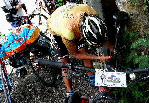 Escala dos, revisión bici Ruta Chichimeca 2017 estado de Puebla, límite con estado de Morelos