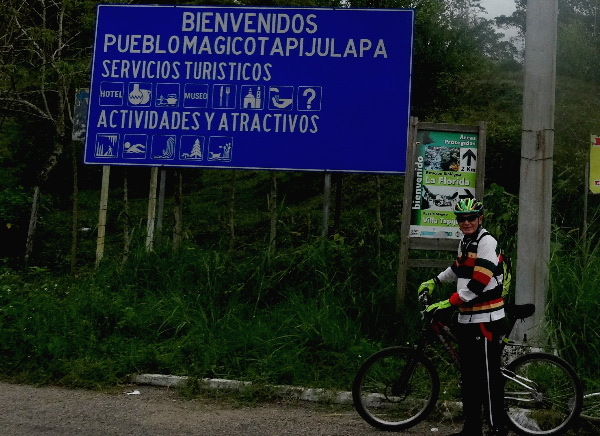 Crucero Tapijulapa-Oxolotán, Estado de Tabasco. Cicloturismo 2017