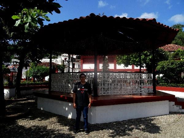 Kiosco de Tapijulapa  Tabasco. Cicloturismo 2017