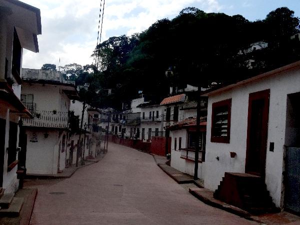 Calle de Tapijulapa Pueblo Mágico de Tabasco. Cicloturismo 2017