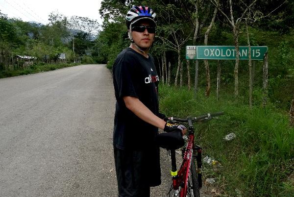 Cicloturista ruta Tapijulapa-Villa Luz, Estado de Tabasco, 2017