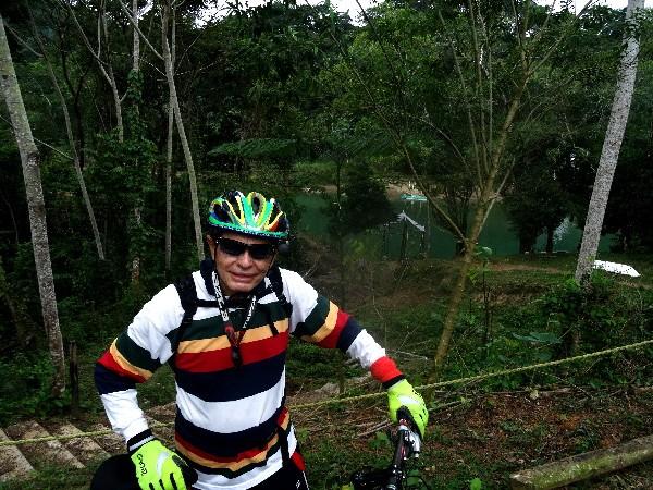 Bajada a las Cascadas de Villa Luz, Tapijulapa Tabasco, cicloturismo 2017