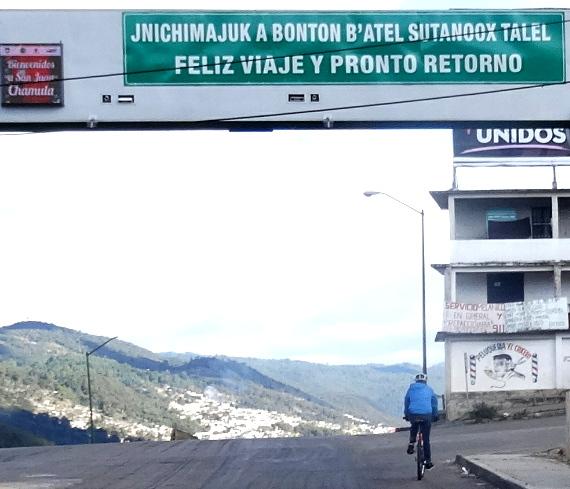 Cicloturismo Chamula-Zinacantán Chiapas, traducción de Feliz viaje y pronto regreso