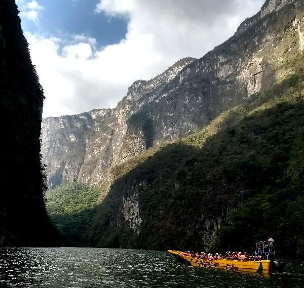 Parque Nacional Cañón del Sumidero , Chiapa de Corzo,Chiapas