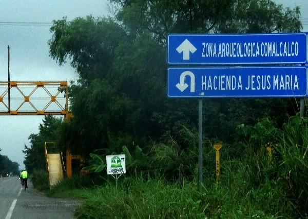 Rodando autopista a Comalcalco y Paraiso Tabasco, cicloturismo 2018
