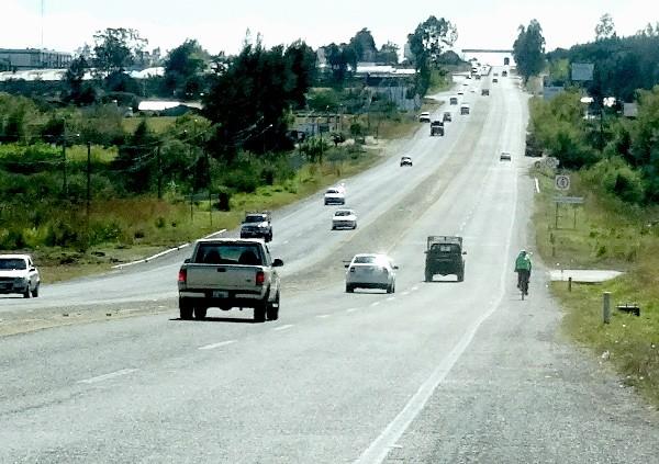 Carretera Comitán-Lagunas de Montebello, Chiapas, cicloturismo 2017