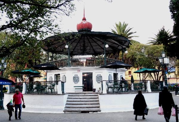 Kiosco del siglo XX, San Cristóbal de las Casas, Chiapas