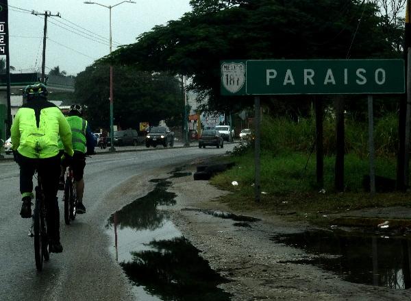 Continúa ruta cicloturista Comalcalco-Paraiso Tabasco 2018