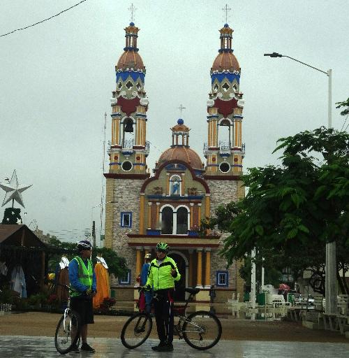 Centro de Paraiso Tabasco, cicloturistas 2018