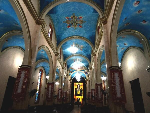 Interior del templo de San Marcos, Paraiso Tabasco 2018