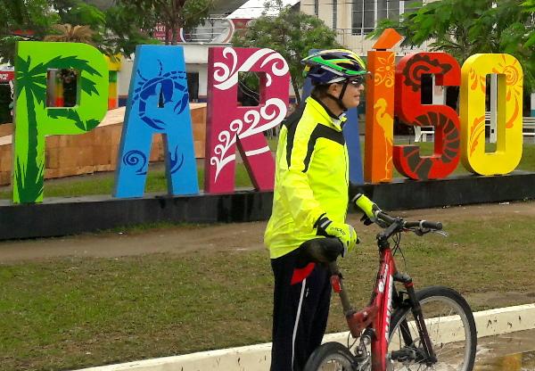 Termina ruta cicloturista autopista Reforma Dos Bocas-Comalcalco{Paraiso, Tabasco 2018