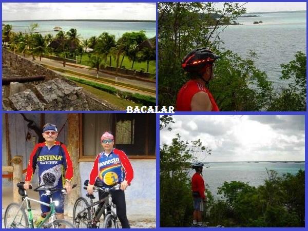 Bacalar Pueblo Mágico en bicicleta, Estado de Quintana Roo