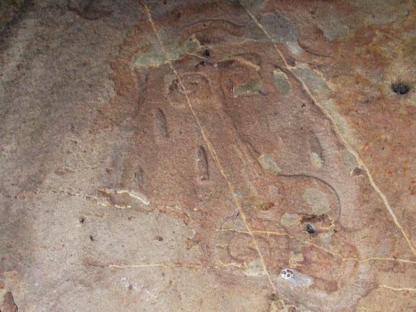 Petroglifos en Chalcatzingo, Jantetelco Estado de Morelos. Senderismo México