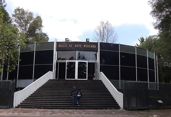 Museo de Arte Moderno, Bosque de Chapultepec 1a. sección Alcaldía Miguel Hidalgo CDMX. Senderismo urbano