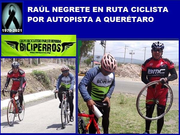 Raúl Negrete 'El Pollo' rodando a Querétaro por autopista (1970-2021)