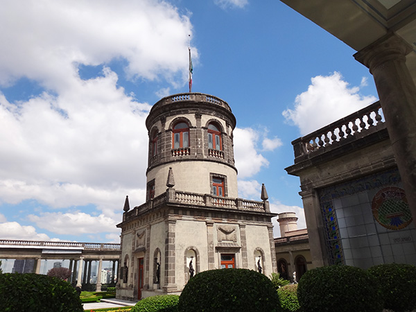 Estructura El Observatorio en el Castillo de Chapultepec, senderismo urbano, Alcaldía Miguel Hidalgo, CDMX