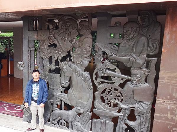 Museo del Caracol -Galería de Historia-, Cerro de Chapultepec 1a. sección, senderismo urbano. Alcaldía Miguel Hidalgo CDMX