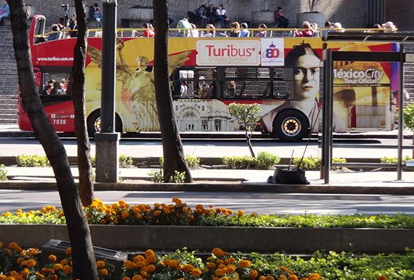 Turibús Chapultepec-Paseo de la Reforma, Ciudad de México. Senderismo Urbano
