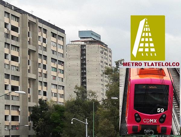 Sendero urbano metro Tlatelolco, Plaza Tres Culturas y Jardín Santiago, Alcaldía Cuauhtémoc, CDMX