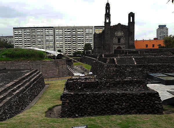Imágen 3, Plaza de las Tres Culturas, Tlatelolco, Alcaldía Cuauhtémoc, Ciudad de México, senderismo urbano