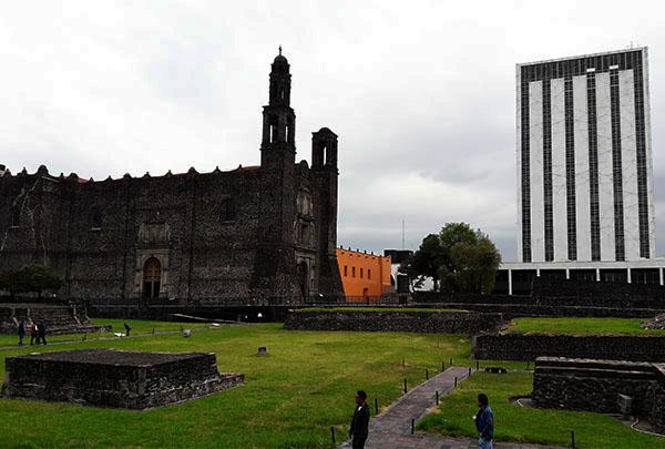 Imágen 4, Plaza de las Tres Culturas, Tlatelolco, Alcaldía Cuauhtémoc, Ciudad de México, senderismo urbano