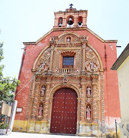 Capilla del tercer Órden de San Francisco del siglo XVII-XVIII, Atlixco Pueblo Mágico, Estado de Puebla, senderismo México